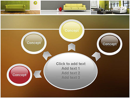 Interior Design Ideas PowerPoint Template Slide 7