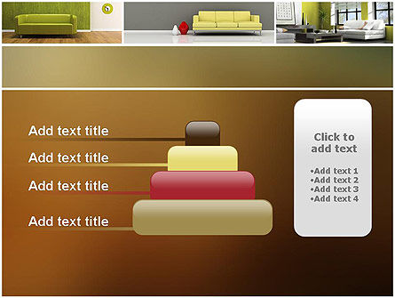 Interior Design Ideas PowerPoint Template Slide 8