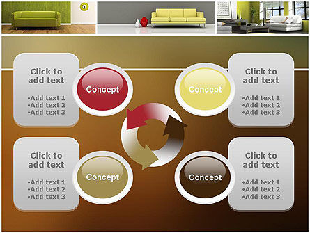Interior Design Ideas PowerPoint Template Slide 9