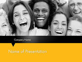 People: Laughing People PowerPoint Template #11818