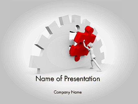 Business Concepts: Making Process Improvement PowerPoint Template #11819