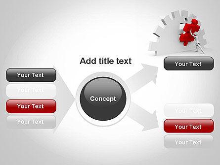 Making Process Improvement PowerPoint Template Slide 14