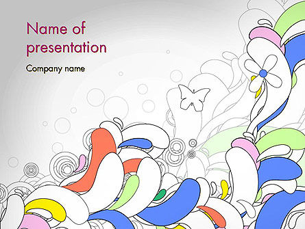 Color Abstraction PowerPoint Template