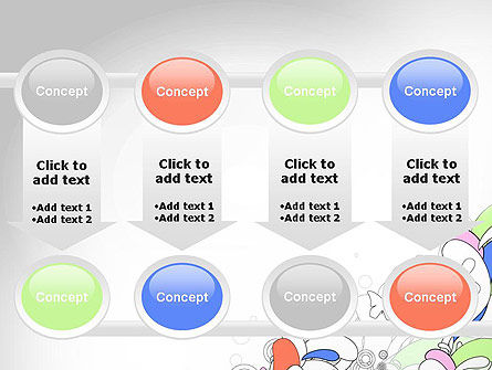 Color Abstraction PowerPoint Template Slide 18