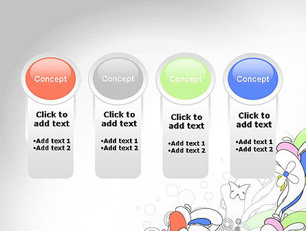 Color Abstraction PowerPoint Template Slide 5