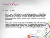 Color Abstraction PowerPoint Template#2