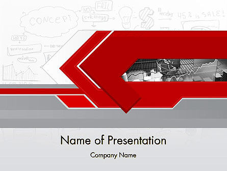 Business Presentation Concept PowerPoint Template, 11821, Business — PoweredTemplate.com