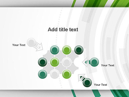 Green Circles Theme PowerPoint Template Slide 10