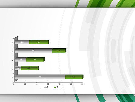 Green Circles Theme PowerPoint Template Slide 11