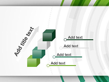 Green Circles Theme PowerPoint Template Slide 14