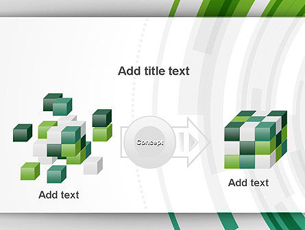 Green Circles Theme PowerPoint Template Slide 17