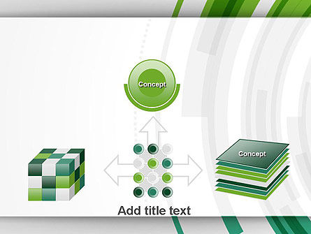 Green Circles Theme PowerPoint Template Slide 19
