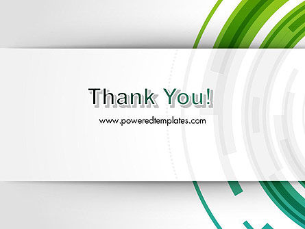 Green Circles Theme PowerPoint Template Slide 20