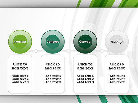 Green Circles Theme PowerPoint Template Slide 5