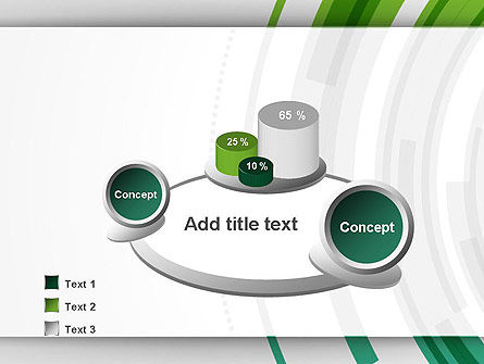 Green Circles Theme PowerPoint Template Slide 6