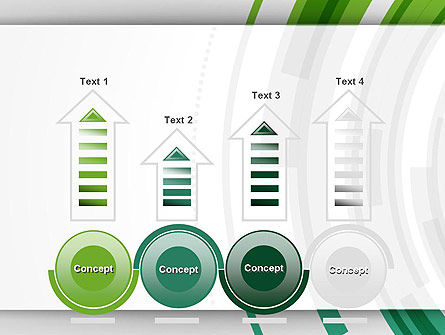 Green Circles Theme PowerPoint Template Slide 7