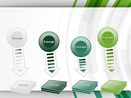 Green Circles Theme PowerPoint Template Slide 8