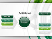 Green Circles Theme PowerPoint Template#15