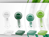 Green Circles Theme PowerPoint Template#8