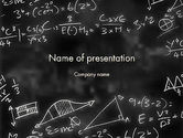 Education & Training: Modelo do PowerPoint - expressões matemáticas #11823