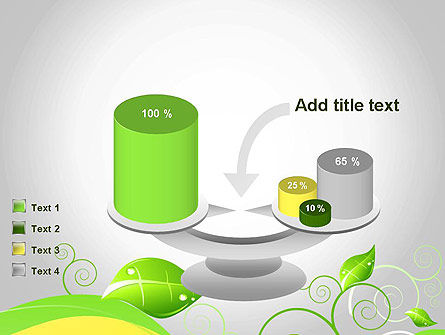 Abstract Floral PowerPoint Template Slide 10