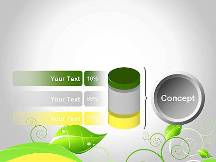 Abstract Floral PowerPoint Template Slide 11