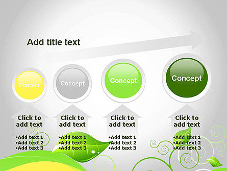 Abstract Floral PowerPoint Template Slide 13