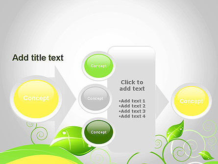 Abstract Floral PowerPoint Template Slide 17