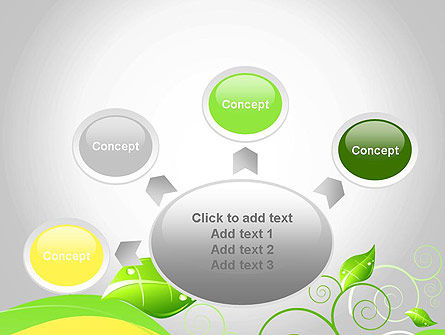 Abstract Floral PowerPoint Template Slide 7