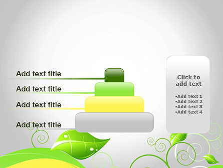 Abstract Floral PowerPoint Template Slide 8