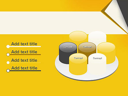 Folded Paper PowerPoint Template Slide 12