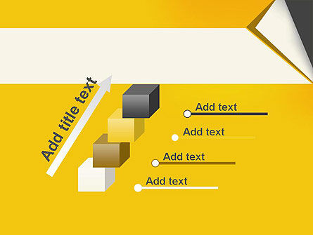 Folded Paper PowerPoint Template Slide 14