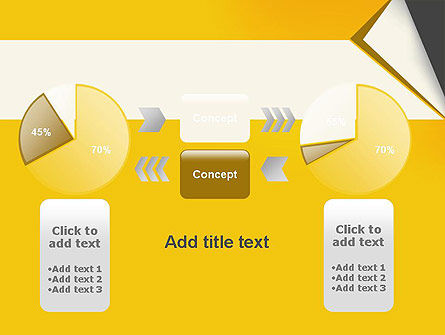 Folded Paper PowerPoint Template Slide 16