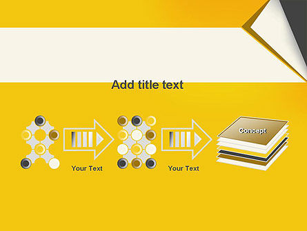 Folded Paper PowerPoint Template Slide 9
