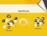 Folded Paper PowerPoint Template#17