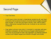 Folded Paper PowerPoint Template#2