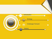 Folded Paper PowerPoint Template#3