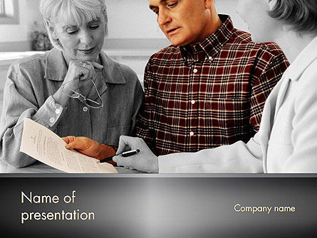 Estate Planning Services PowerPoint Template