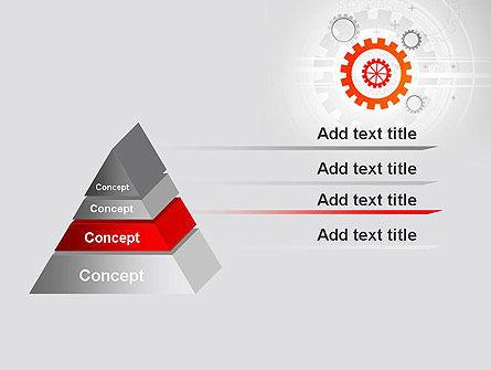 Flat Design Gears PowerPoint Template Slide 12
