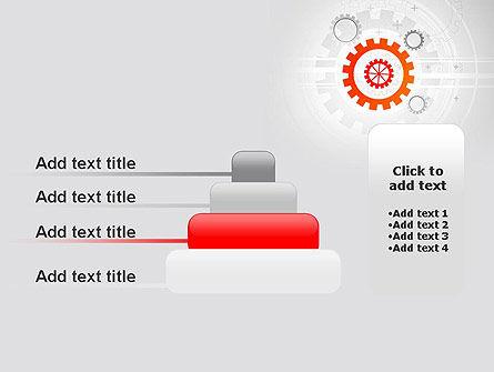 Flat Design Gears PowerPoint Template Slide 8