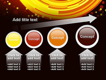 Circles and Dots PowerPoint Template Slide 13