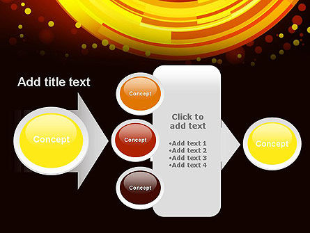 Circles and Dots PowerPoint Template Slide 17