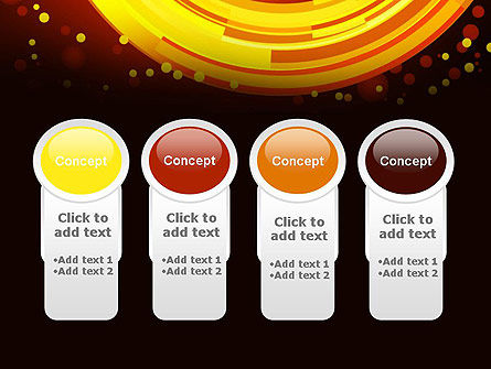 Circles and Dots PowerPoint Template Slide 5