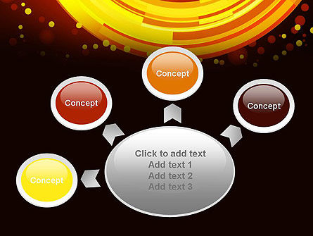Circles and Dots PowerPoint Template Slide 7