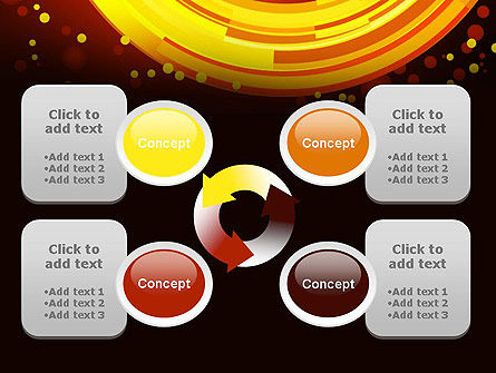 Circles and Dots PowerPoint Template Slide 9