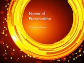 Abstract/Textures: Circles and Dots PowerPoint Template #11829