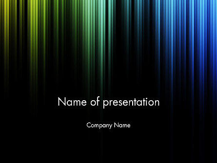 Abstract/Textures: Abstract Aurora PowerPoint Template #11830