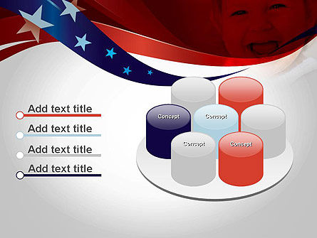 Red White and Pure PowerPoint Template Slide 12