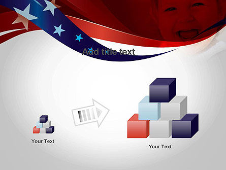 Red White and Pure PowerPoint Template Slide 13