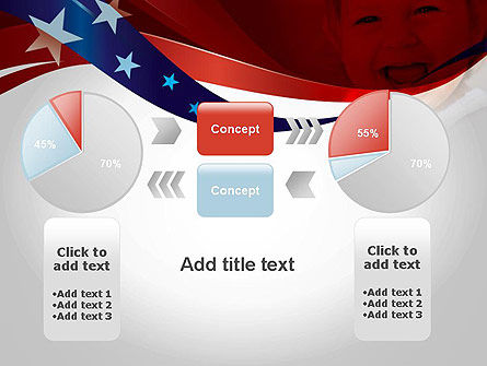 Red White and Pure PowerPoint Template Slide 16